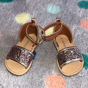 CARTERS size 7 Toddler girl sandals